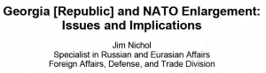 Georgia [Republic] and NATO Enlargement: Issues and Implications